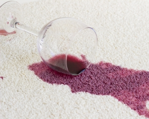 tache vin moquette